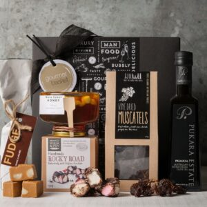 Artisan gourmet food. Premium Food Gift Set. Gift Hampers from Gourmet Basket. Gourmet food hamper.
