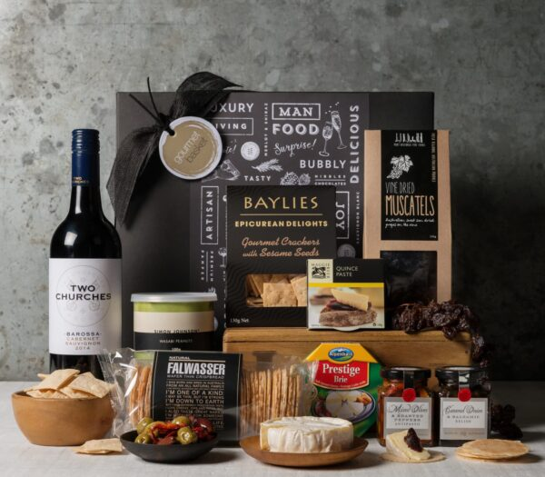 Cheese and Wine Hamper. Gift Hampers from Gourmet Basket