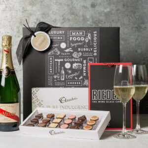 Say Congratulations with Champagne! Send this gourmet gift they'll love