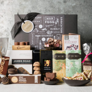 Death by chocolate is the ultimate chocolate lovers gift from Gourmet Basket