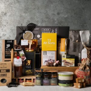 Premium Food hamper. Gift Hampers from Gourmet Basket. Food gift delivery.