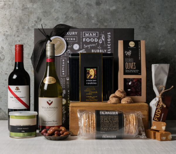 Gourmet food and wine gift set