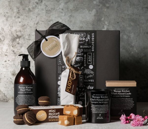 Gift Hampers from Gourmet Basket. House warming present. House warming hamper.